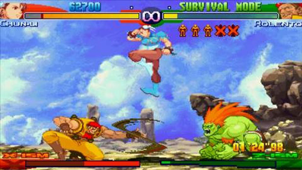 Street Fighter Alpha 3 Max Review Bonus Stage Over 5000 Video