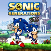 Sonic Generations, Sonic, Sonic Generations Review, SEGA, Action, Platformer, 3D, 3DS, 3DS Review, Dimps Corporation, Sega, Sonic Team,