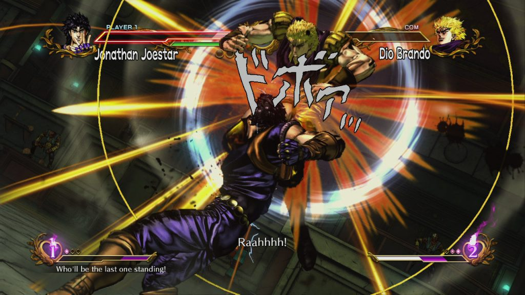 JoJo's Bizarre Adventure All Star Battle Review Screenshot 1