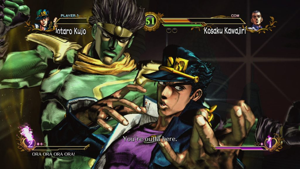 JoJo's Bizarre Adventure All Star Battle Review Screenshot 2