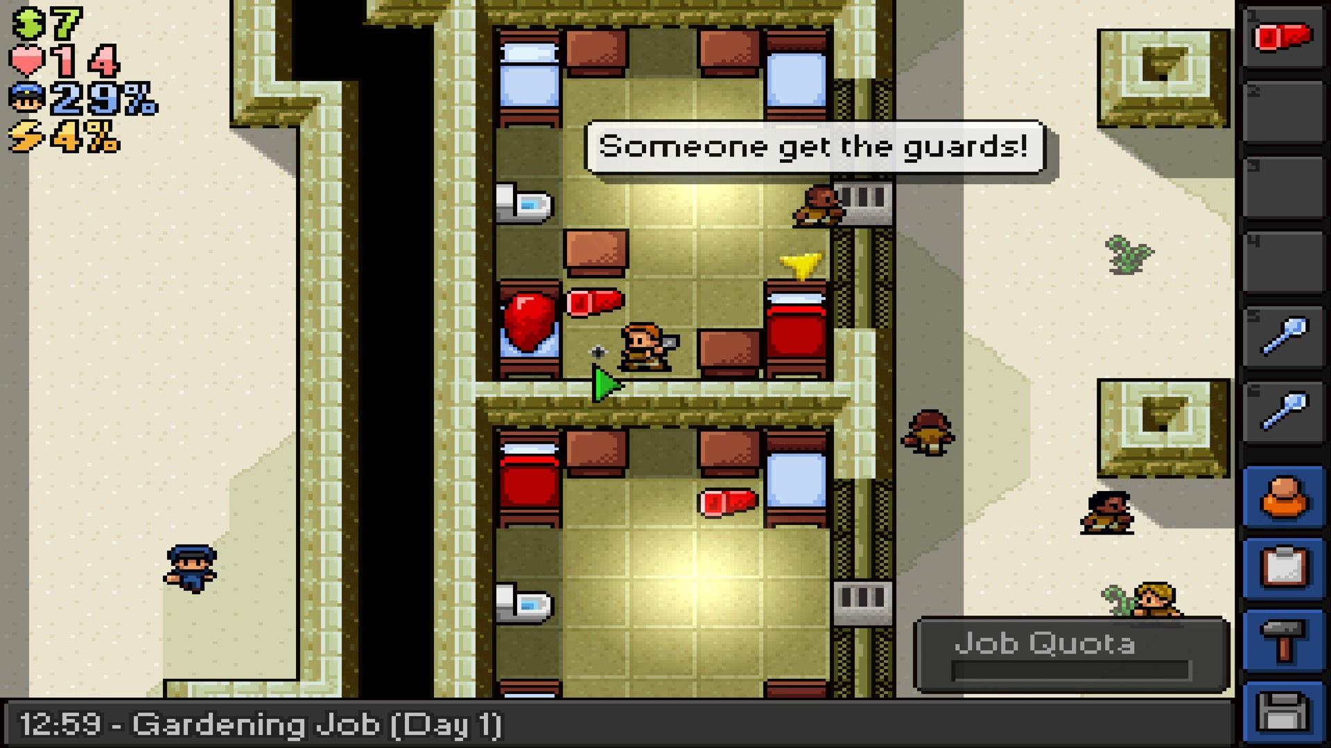 The Escapists Review Screen 3