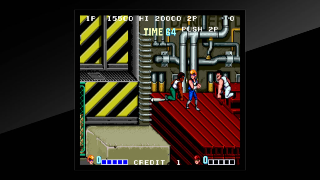 Arcade Archives DoubleDragon Review PS4 Screenshot 2