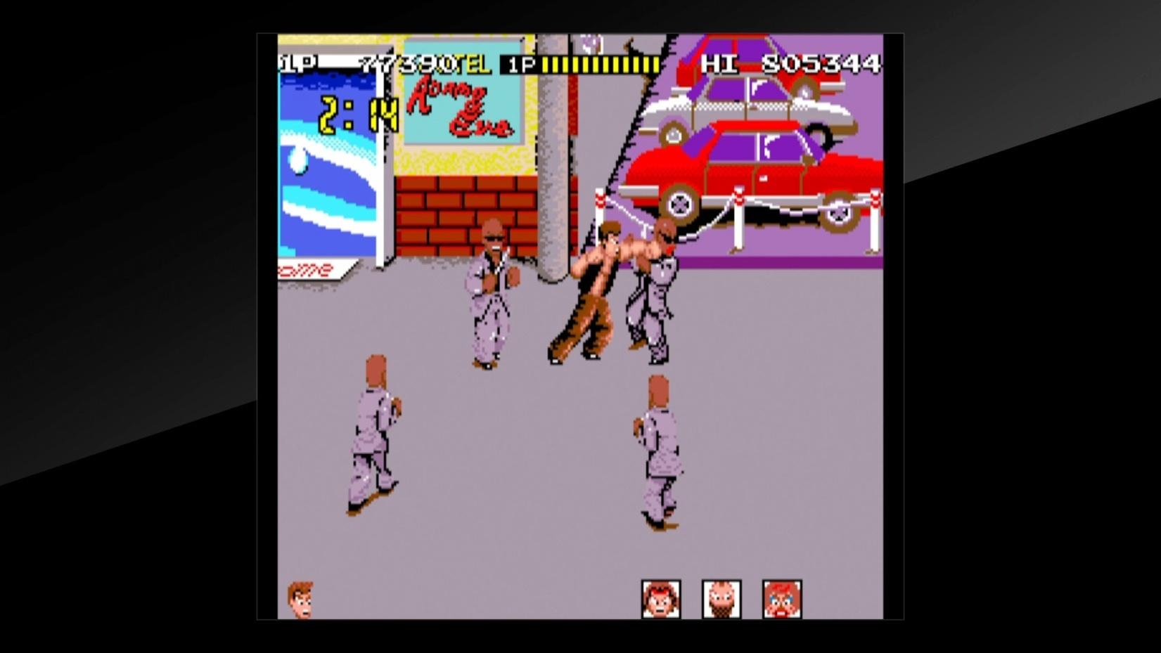 Arcade Archives Renegade PS4 Review Screenshot 2
