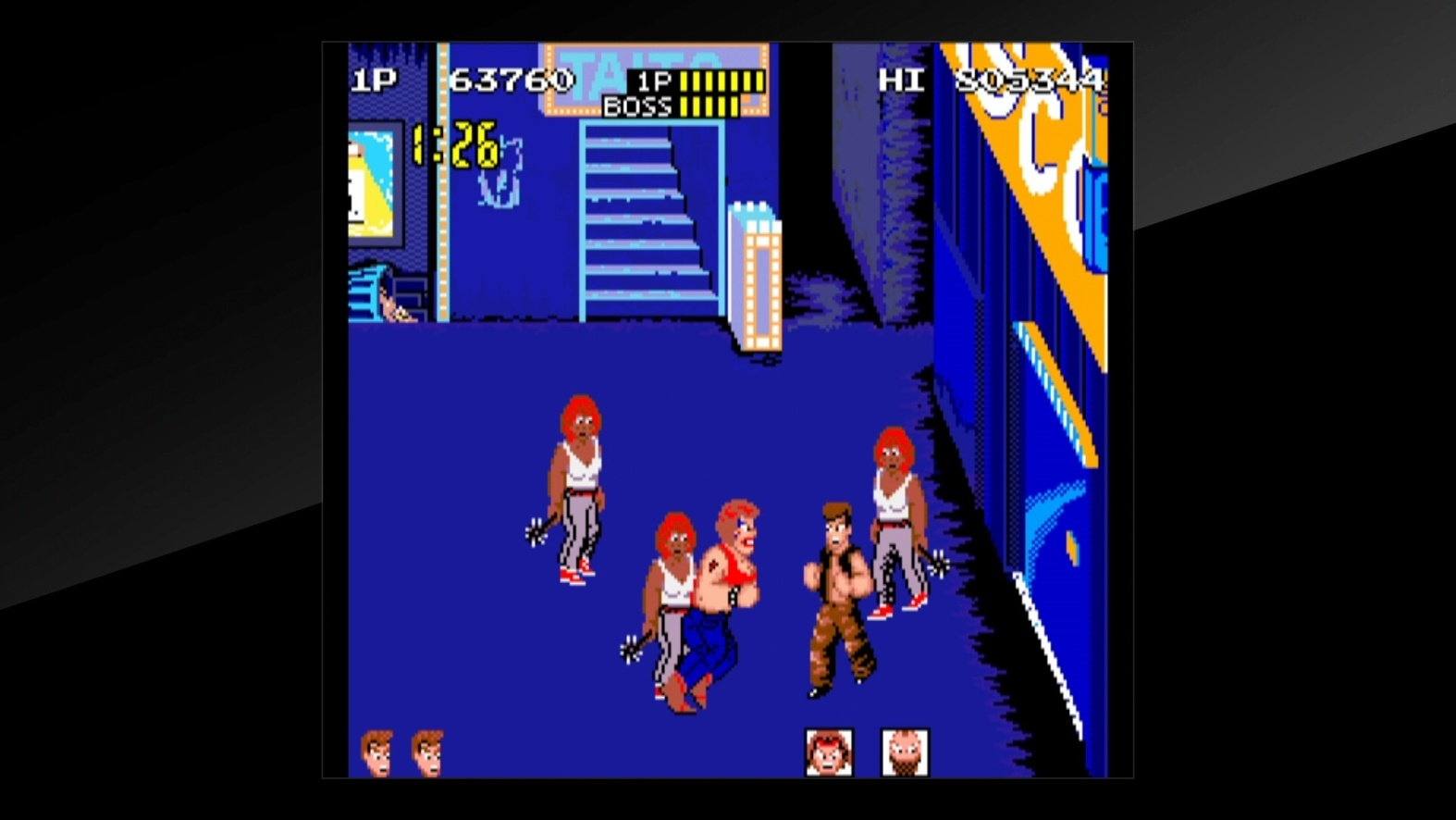 Arcade Archives Renegade PS4 Review Screenshot 3