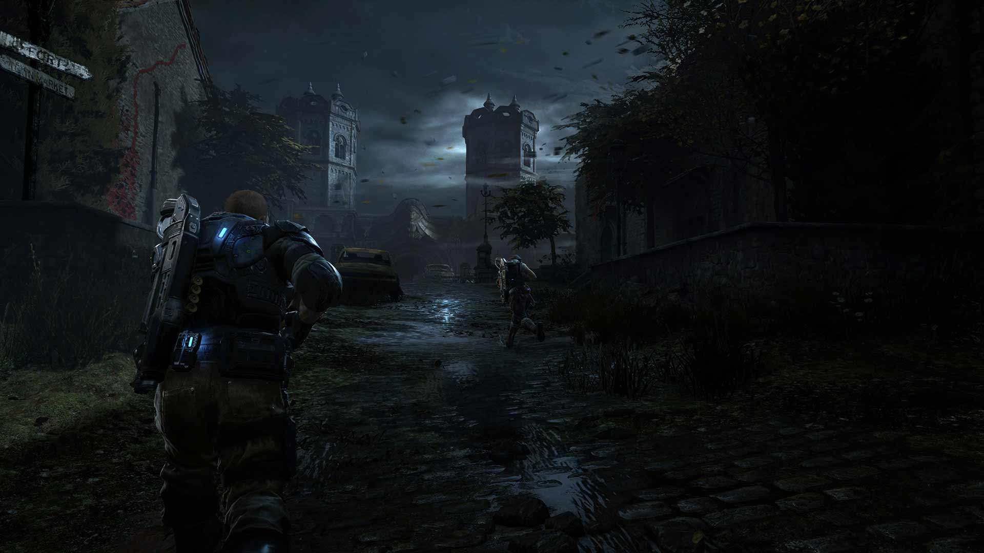 Gears Of War 4 and Ultimate Edition Bridge Screenshot