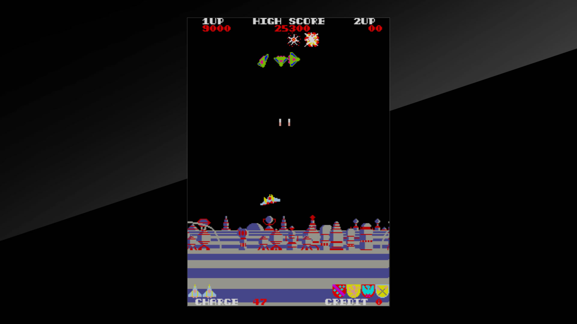 Arcade Archives Exerion Review Screenshot 1