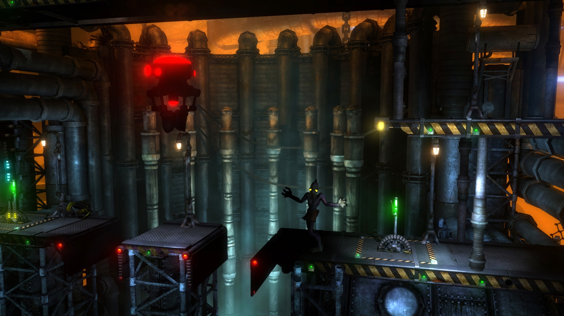 Oddworld New 'n' Tasty Alf's Escape Review Screenshot 1