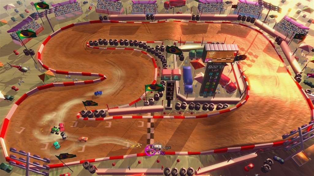 Rock 'N Racing Off Road DX Review Screenshot 2