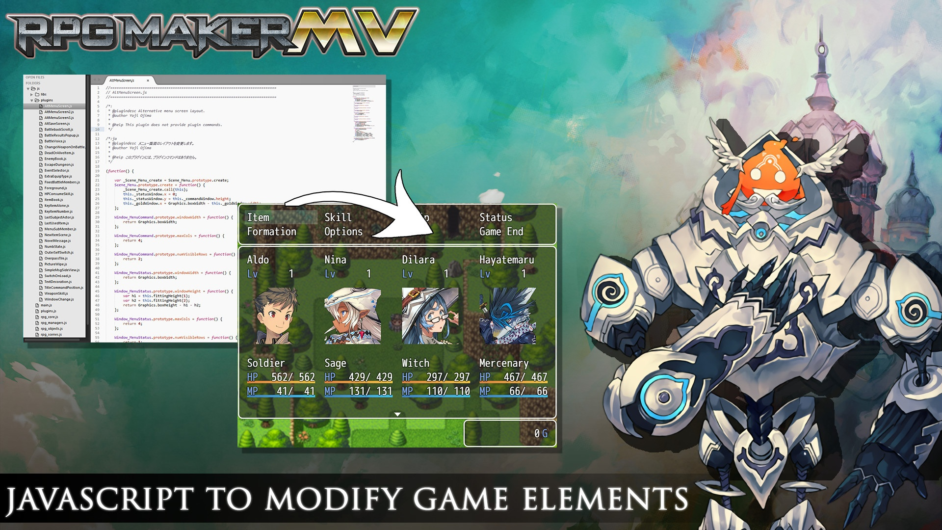 RPG Maker MV Review Screenshot 3 – Bonus Stage