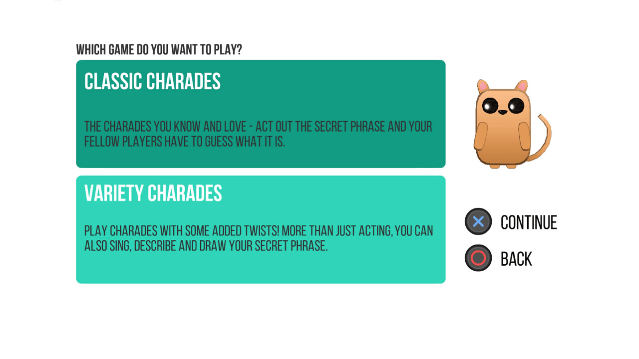 ACT IT OUT! A Game of Charades Review Screenshot 1