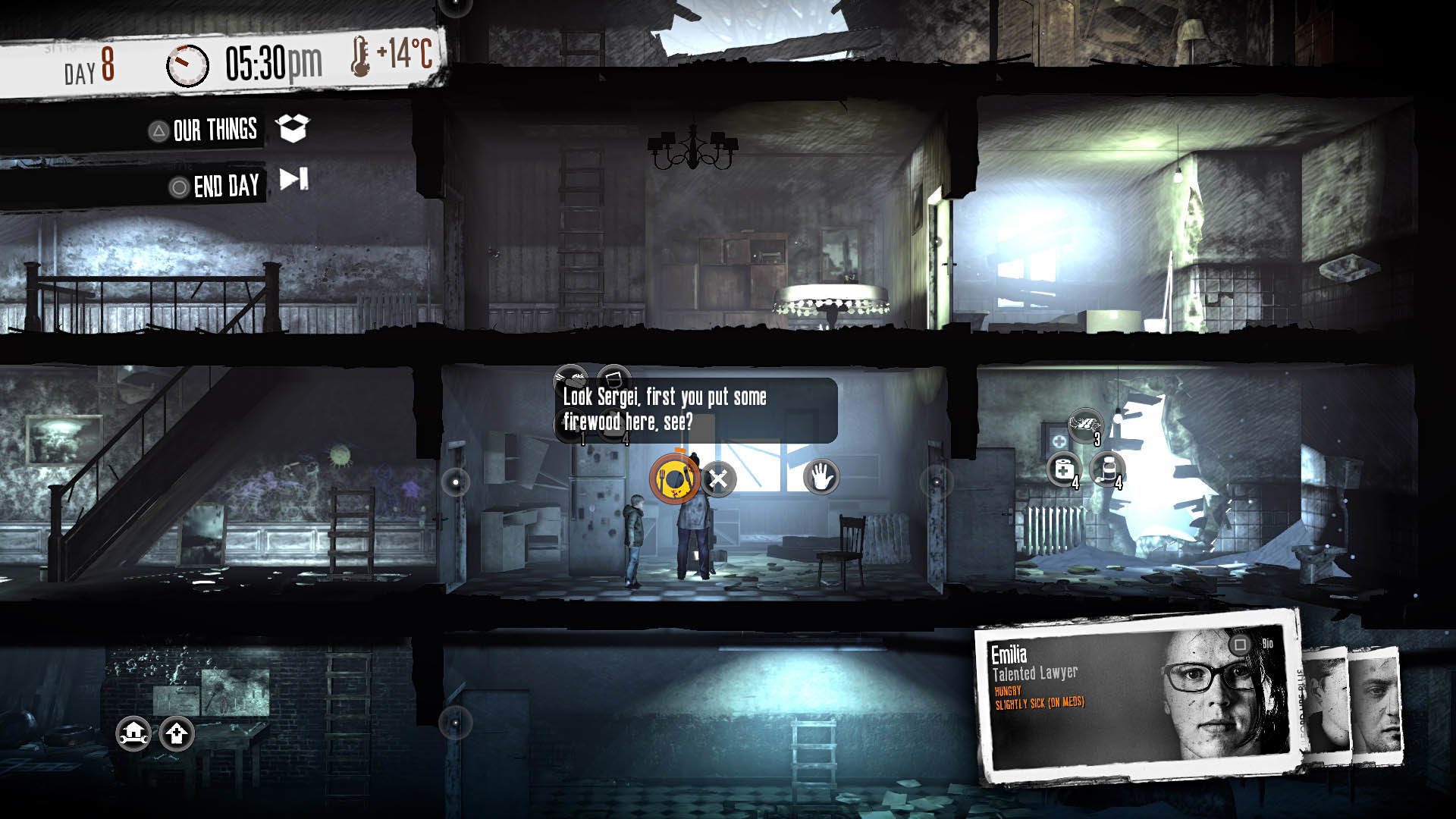 This War of Mine The Little Ones Review Screenshot 1