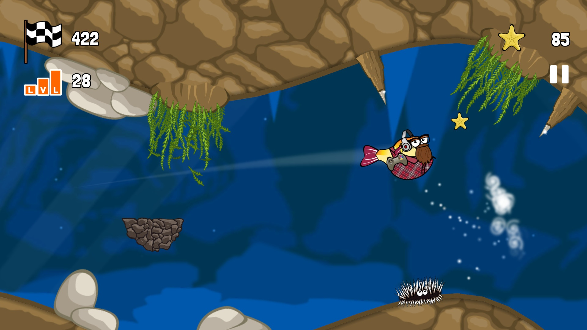 Blowy Fish Review Screenshot 2
