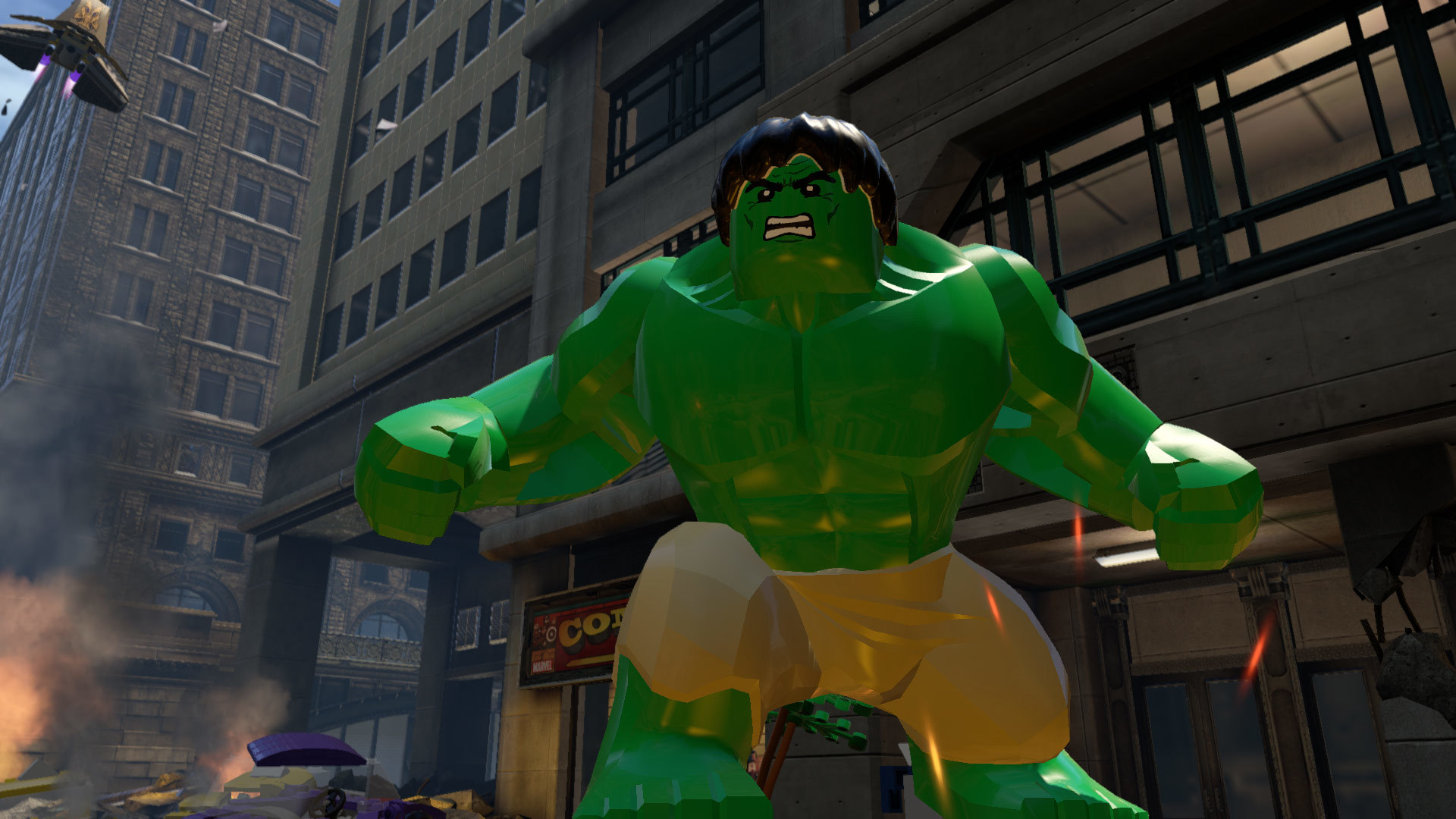 LEGO Marvel's Avengers PS4 Game Review Screenshot 2
