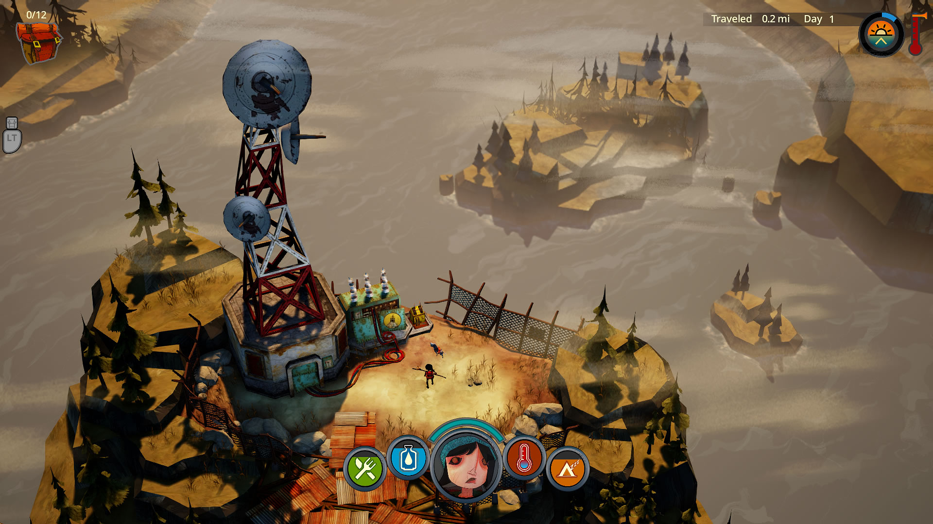 Action, Action & Adventure, adventure, Curve Digital, indie, Rating 7/10, Roguelike, survival, The Flame in the Flood, The Flame in the Flood Review, The Molasses Flood, Xbox One, Xbox One Review
