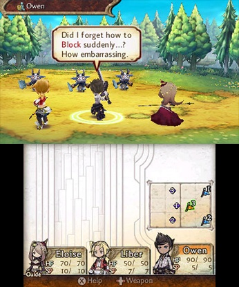 The Legend of Legacy 3DS Game Review Screenshot 3