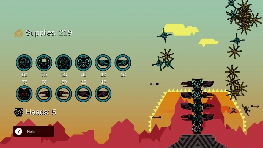 Totem Topple Wii U Game Review Screenshot 1