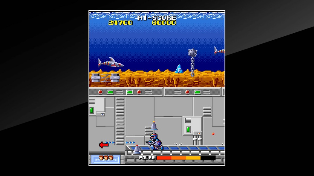 Arcade Archives Cosmo Police Galivan Review Screenshot 3