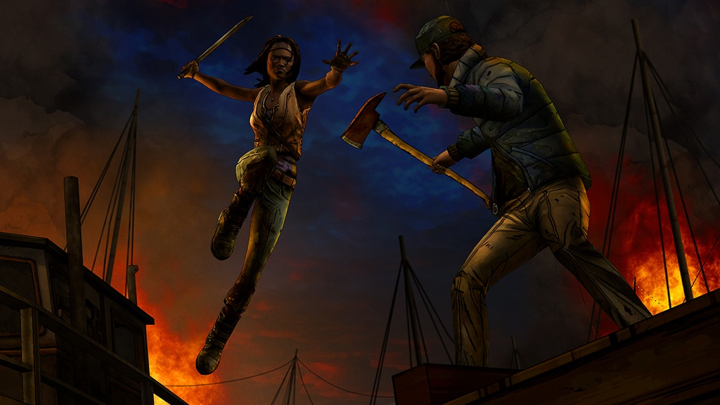 The Walking Dead- Michonne Episode 2 Give No Shelter Review Screenshot 1