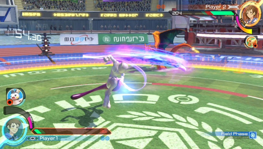 Pokken Tournament A New Battle Combat Screenshot 1