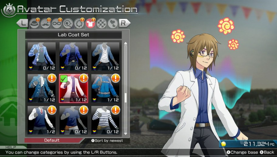 Pokken Tournament Customization Screenshot