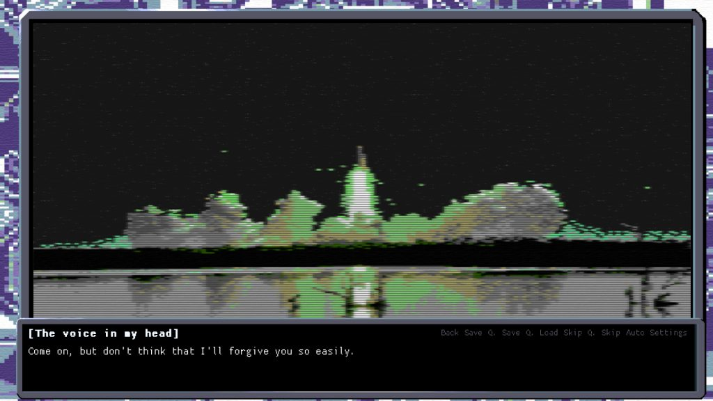 Cyber City 2157 The Visual Novel Review Screenshot 1