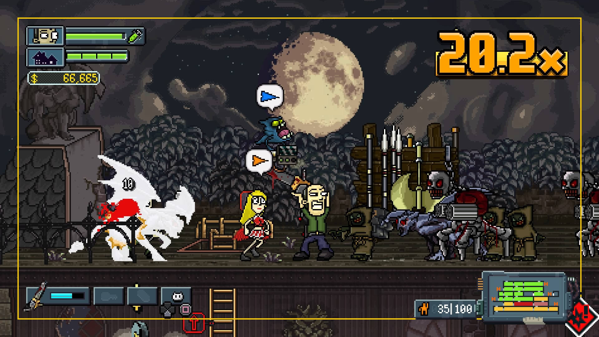 1980s, 2D, Action, arcade, bitComposer Interactive, Horror, indie, My Night Job, My Night Job Review, Pixel Graphics, Platformer, PS4, PS4 Review, Webcore Games