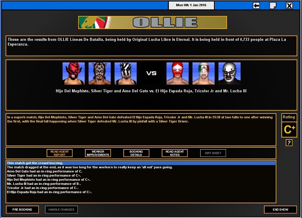 Total Extreme Wrestling 2016 Review Screenshot 1