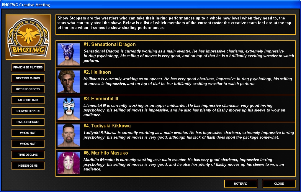 Total Extreme Wrestling 2016 Review Screenshot 3
