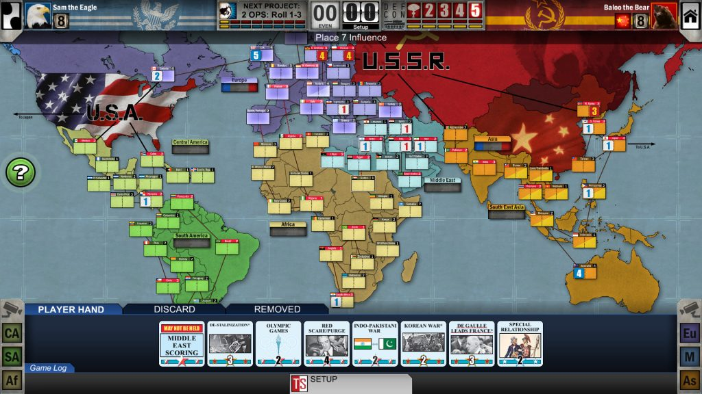 Twilight Struggle PC Game Review Screenshot 1