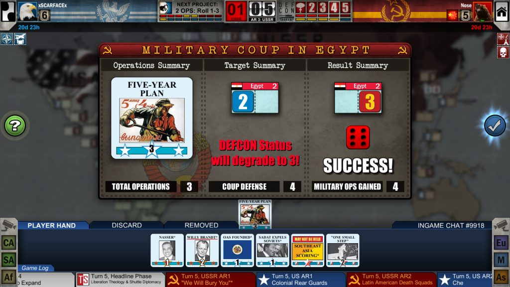 Twilight Struggle PC Game Review Screenshot 2