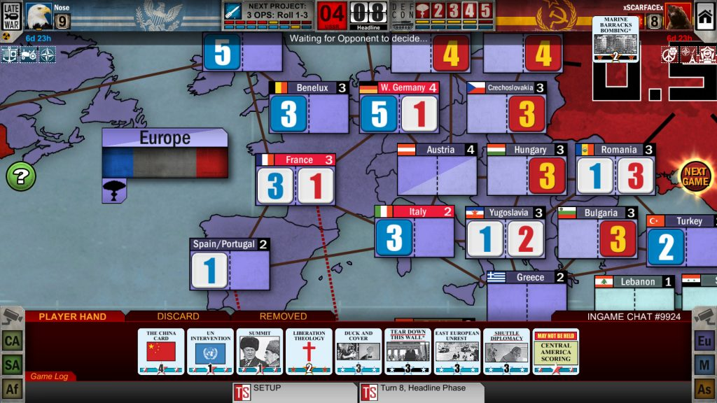 Twilight Struggle PC Game Review Screenshot 3