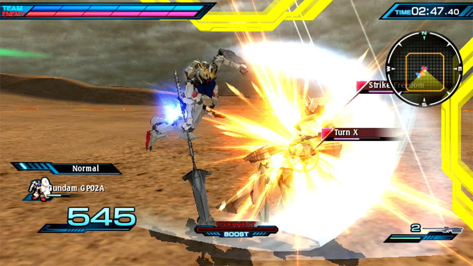 Mobile Suit Gundam Extreme VS-Force Review Screenshot 3