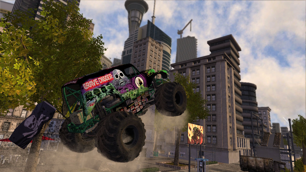 Monster Jam Battlegrounds Review Screenshot 1