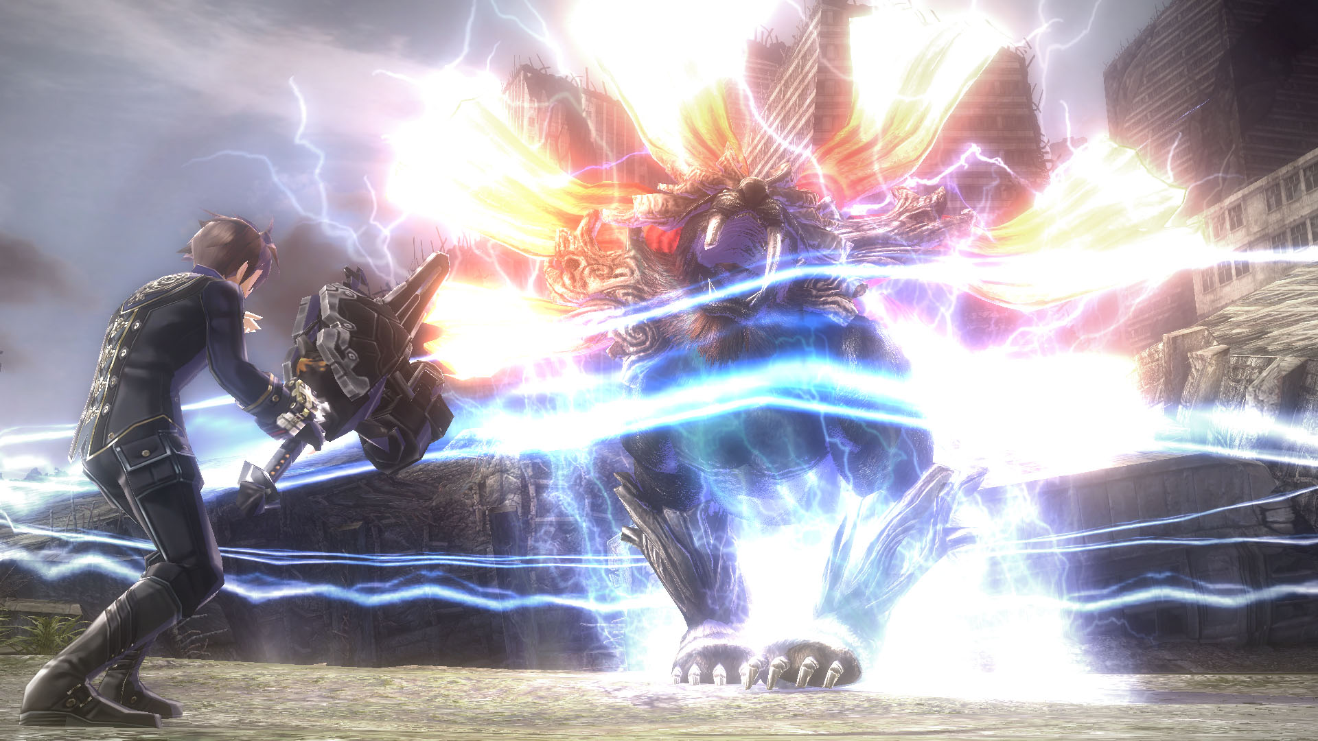 GOD EATER 2 Rage Burst Review Screenshot 2