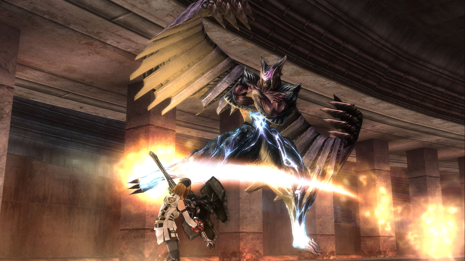 GOD EATER 2 Rage Burst Review Screenshot 3