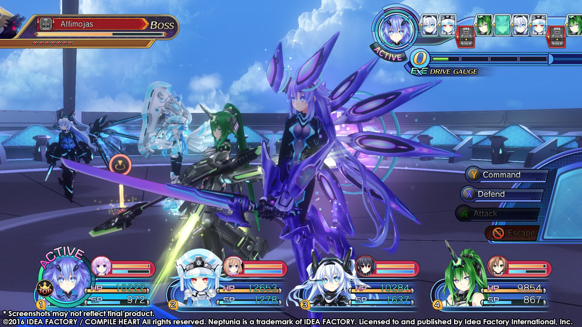 Megadimension Neptunia VII Review Screenshot 1