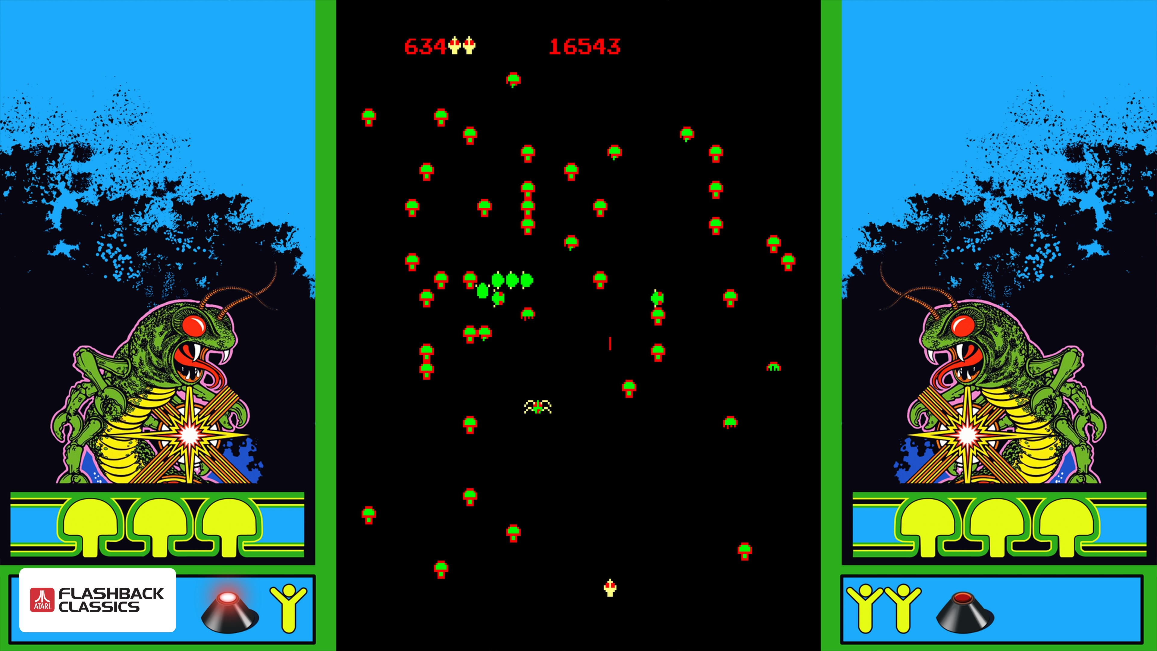 Atari Flashback Classics Volume 1 Review Centipede PS4
