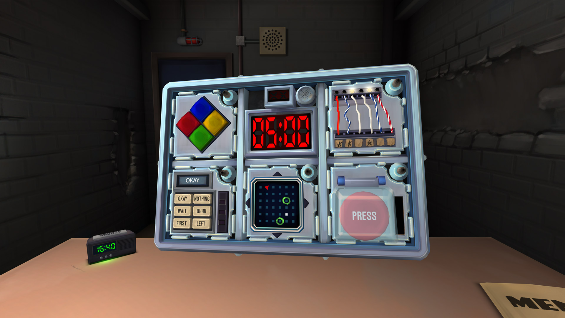 3D, adventure, Communication, first-person, indie, Keep Talking and Nobody Explodes, Keep Talking and Nobody Explodes Review, party, PlayStation VR, PS4, PS4 Review, PSVR, PSVR Review, Puzzle, Rating 9/10, Steel Crate Games, VR