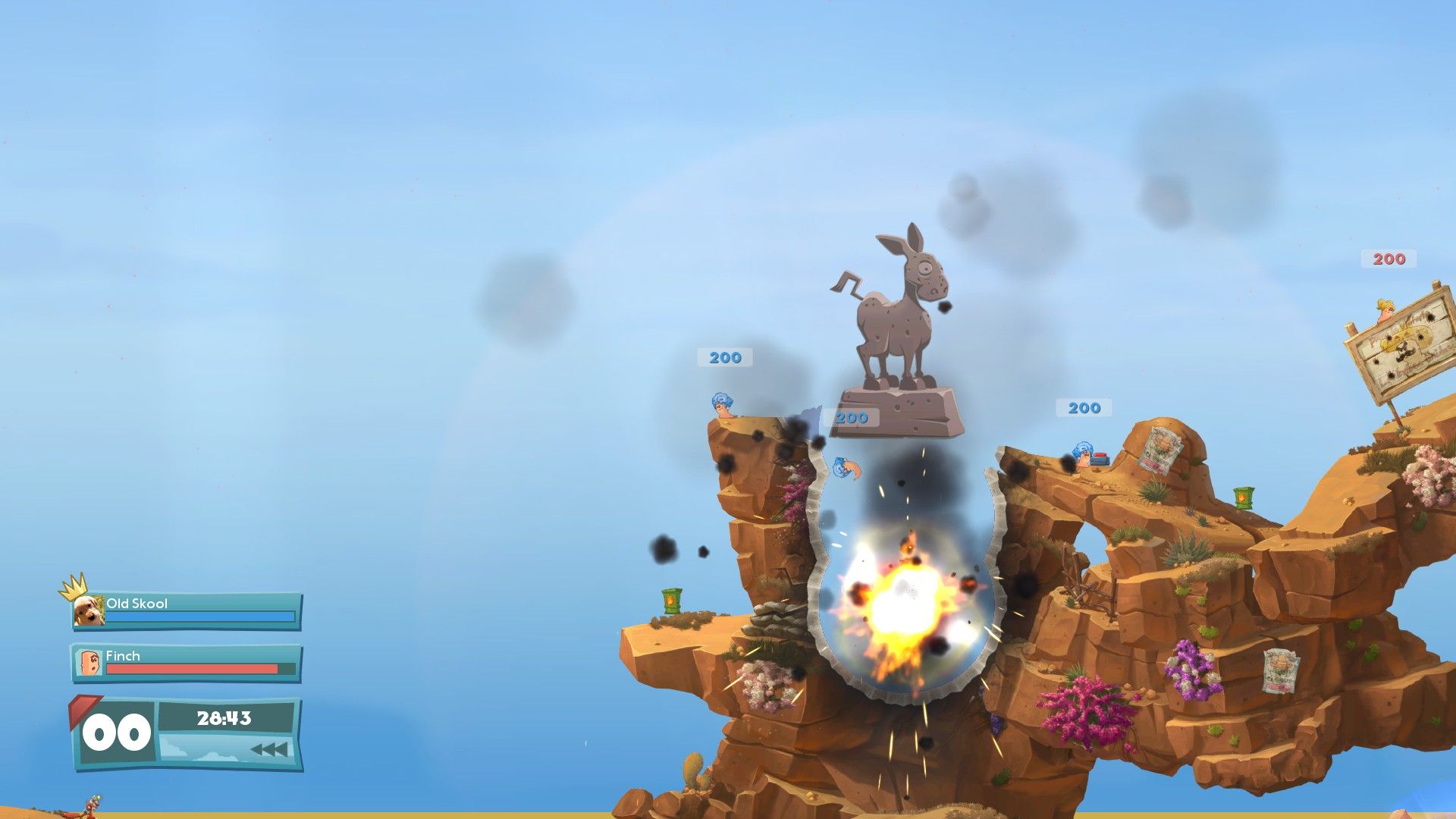 Worms Anniversary Edition Xbox One Review