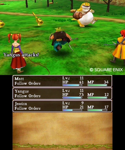 Dragon Quest VIII- Journey of the Cursed King Review Screenshot 3