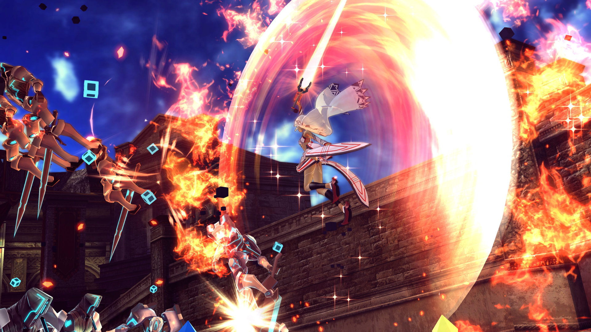 Fate:Extella- The Umbral Star Review Screenshot 1