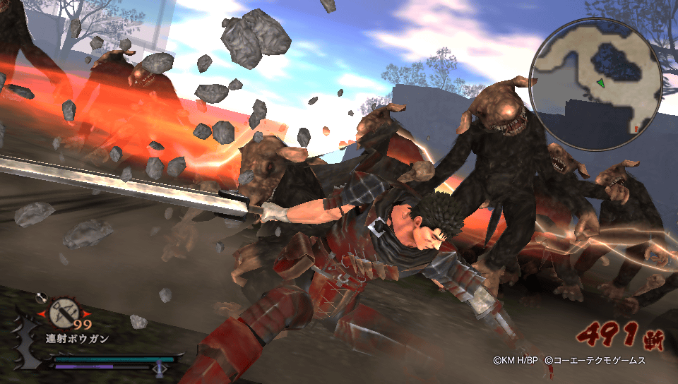 Berserk and the Band of the Hawk Review Screenshot 1
