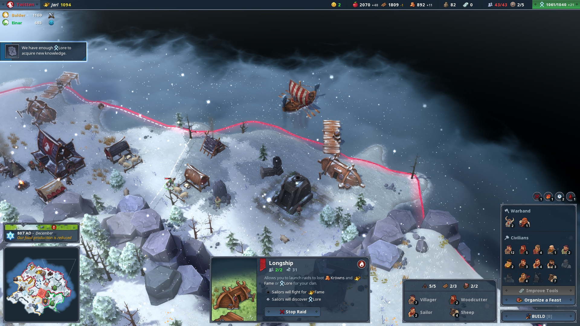 Northgard Review Screenshot 2
