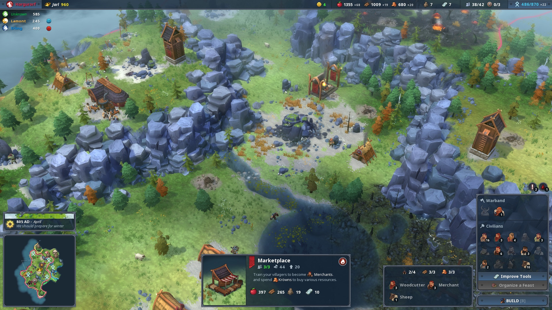 Northgard Review Screenshot 3