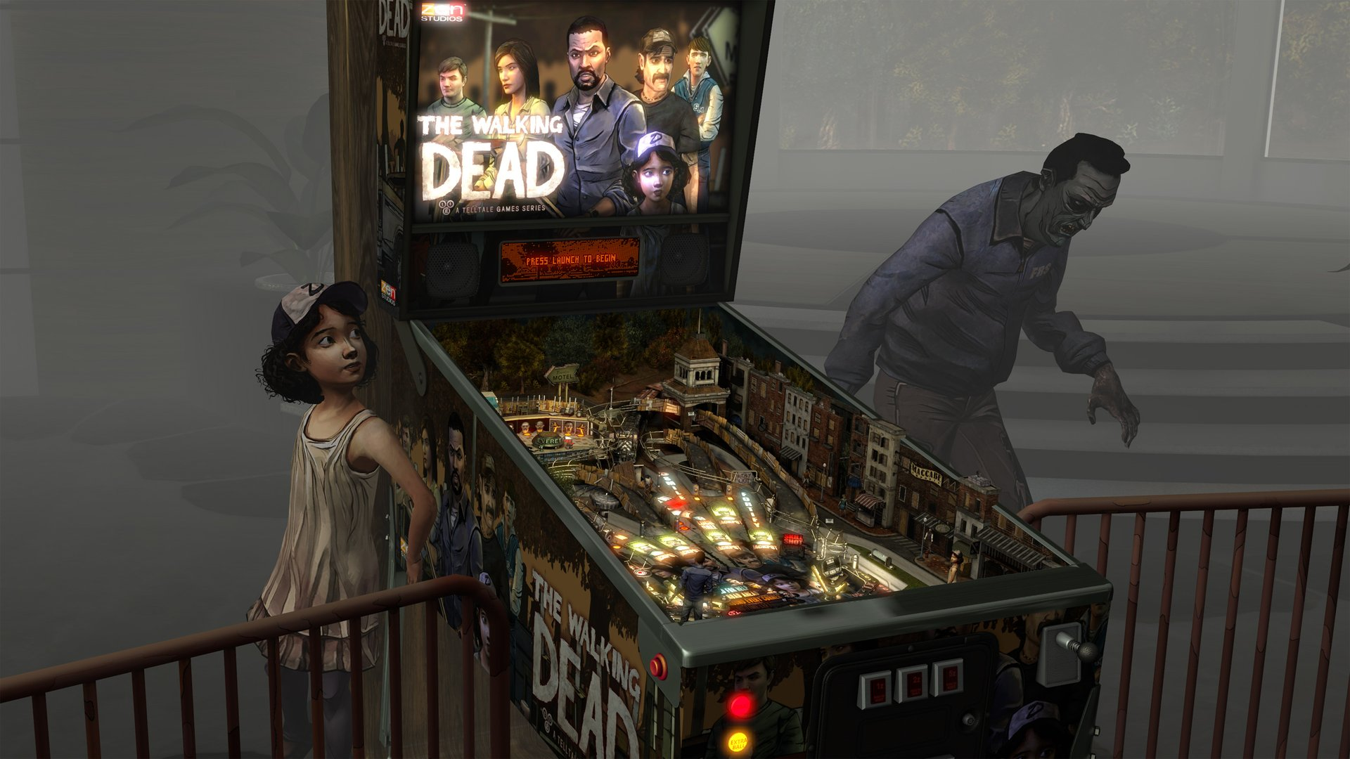 Pinball FX2 VR- The Walking Dead Review Screenshot 1