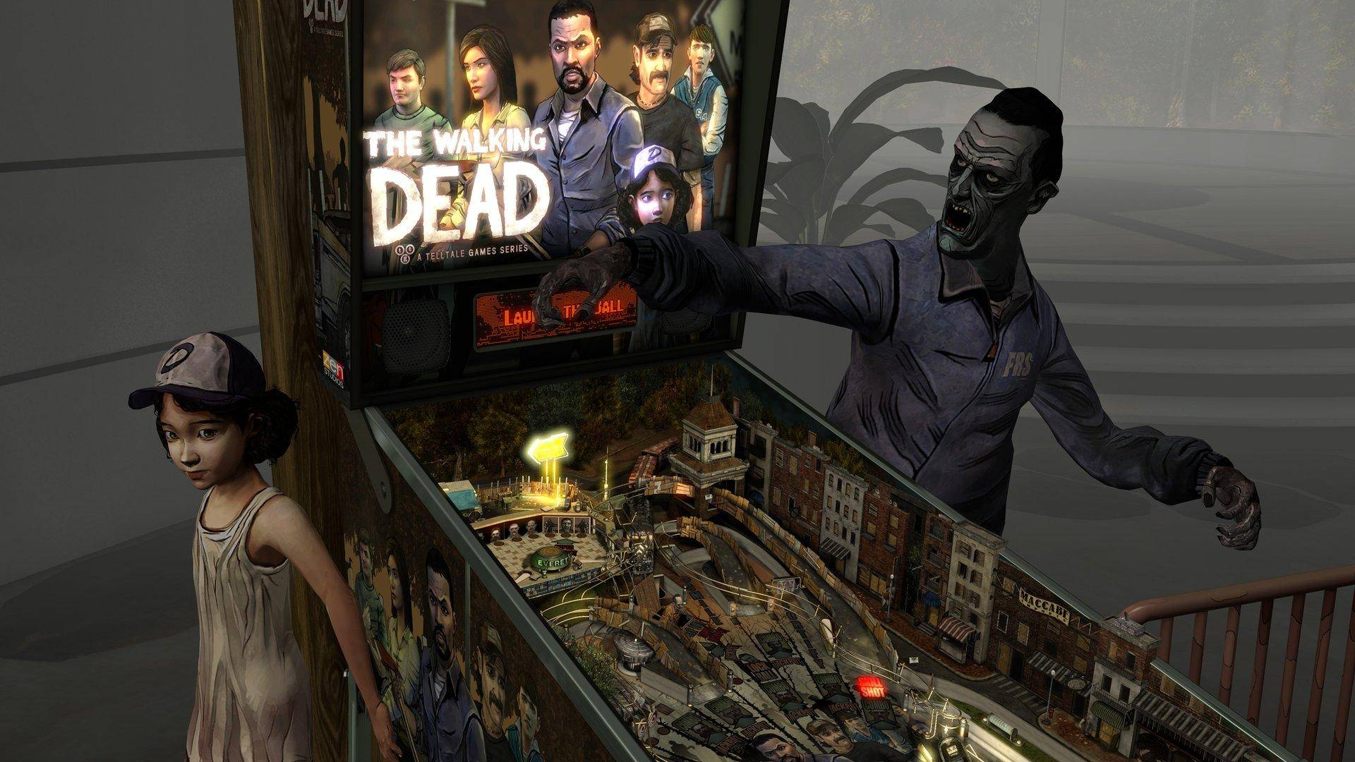 Pinball FX2 VR- The Walking Dead Review Screenshot 2