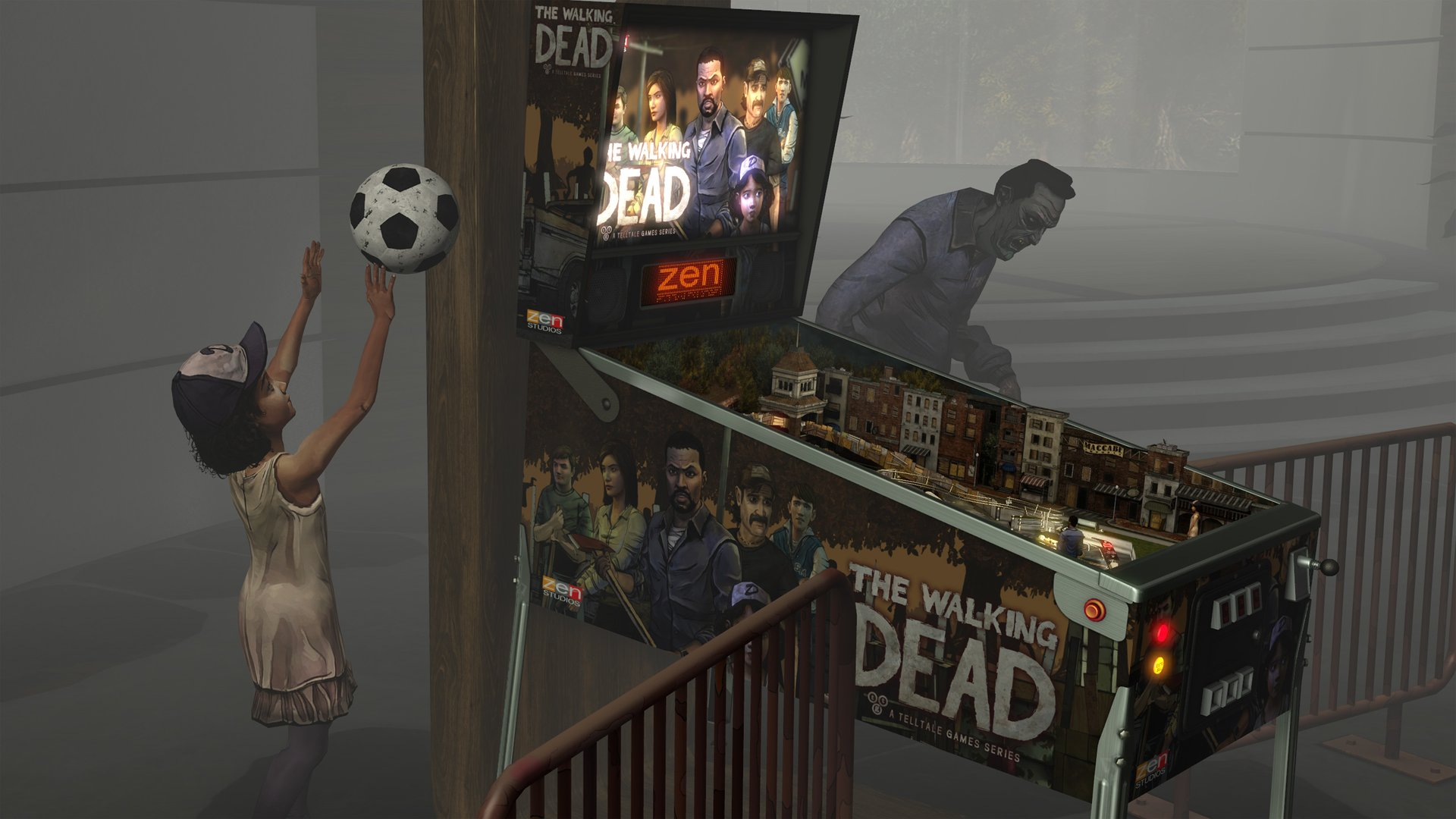 Pinball FX2 VR- The Walking Dead Review Screenshot 3
