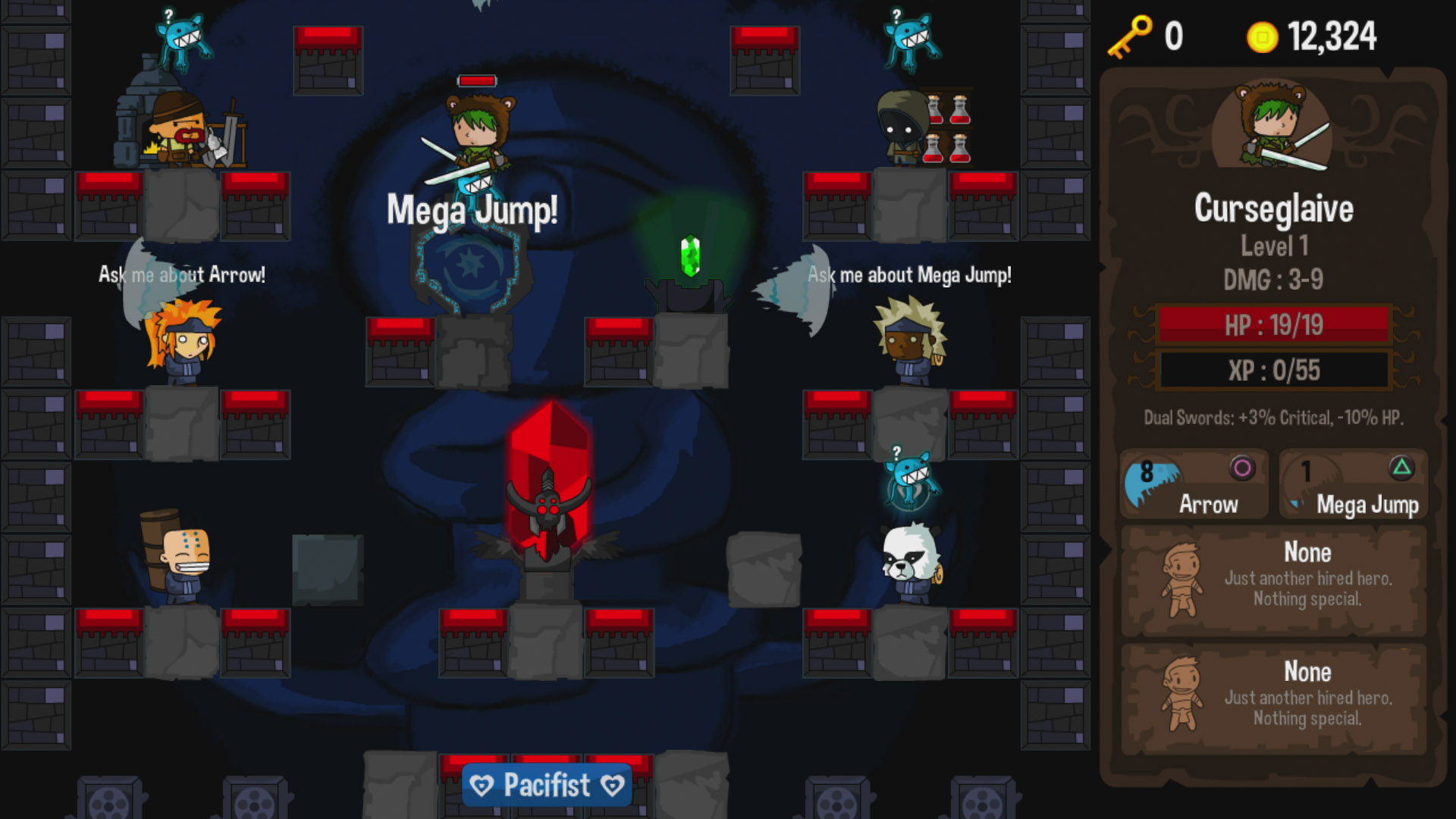 Vertical Drop Heroes HD Review Screenshot 1