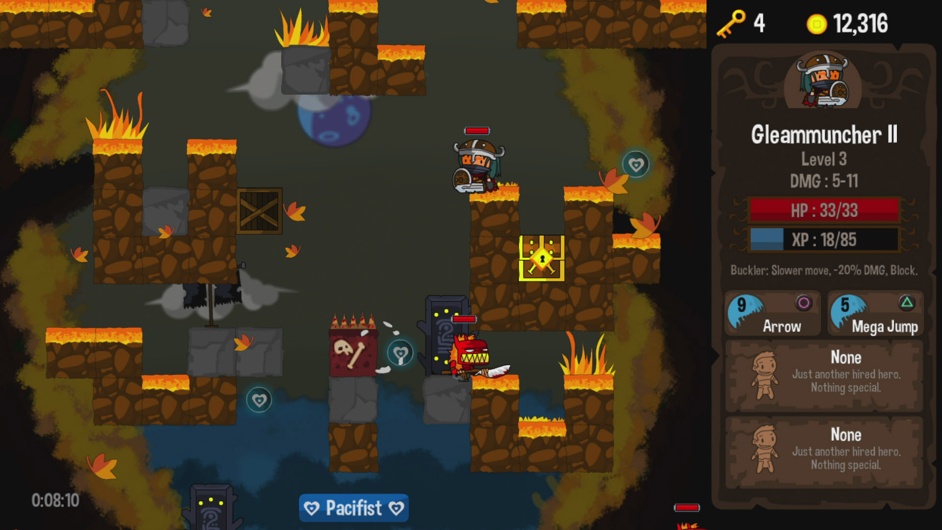 Vertical Drop Heroes HD Review Screenshot 2