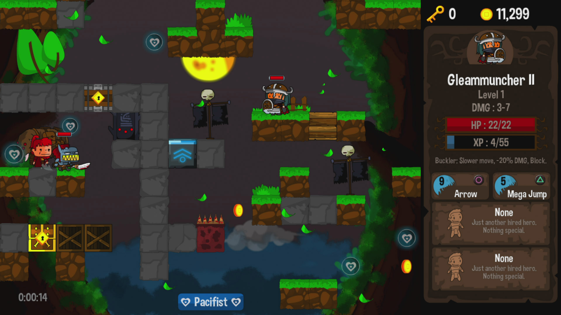 Vertical Drop Heroes HD Review Screenshot 3